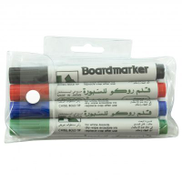 Roco Whiteboard Marker, 1.5 - 5 mm Chisel Tip, Assorted Color