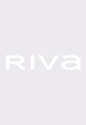 Riva Orange Ruffle Sleeve Shirt