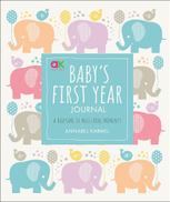 0 Baby's First-Year Journal - A Keepsake of Milestone Moments