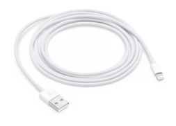 Apple Lightning to USB 2.0, Sync & Charge Cable, 2.00 m ( 6.56 ft ), White